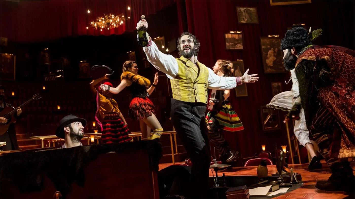 Josh Groban in Natasha, Pierre, and the Great Comet of 1812 / Imperial Theater, Broadway